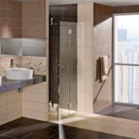 пример светлого декора укладки плитки в ванной комнате картинка