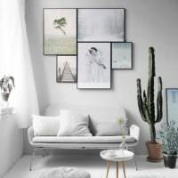 пример светлого стиля гостиной 15 кв.м фото