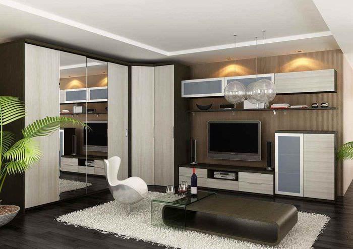 Дизайн гостиной 15 кв.м реальные