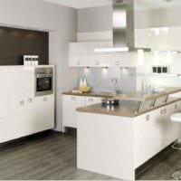 идея красивого декора кухни 11 кв.м картинка