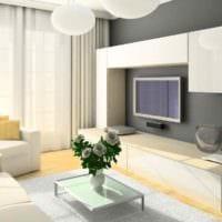 пример яркого стиля гостиной 15 кв.м картинка