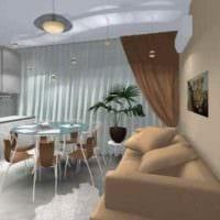 вариант яркого стиля кухни 12 кв.м картинка