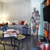 проект квартиры студии