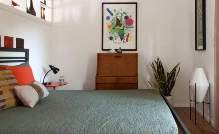 проект маленькой спальни