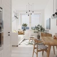 малогабаритная квартира в скандинавском стиле