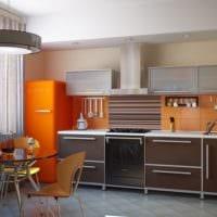 кухня 3 кв. метра прямая