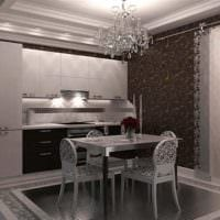 кухня 3 кв. метра классическая