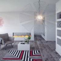 серый ламинат дизайн фото