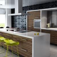 кухня в стиле модерн в стиле модерн