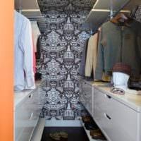 дизайн современной гардеробной