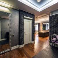 современный дизайн прихожей в доме