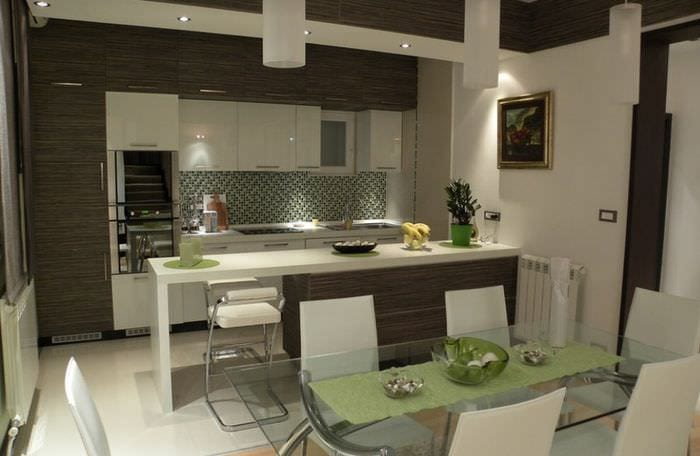 студия кухня дизайн