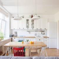 светлая кухня 5 кв метров
