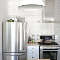 кухня 3 кв. метра с техникой