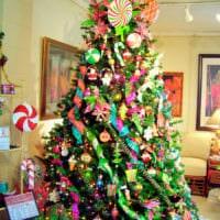 украшаем елку в 2018 году декор