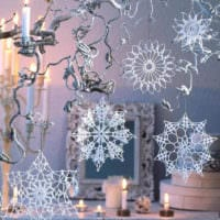 украшение окна к новому году фото идеи