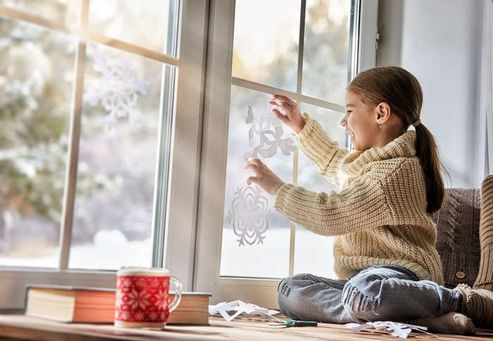 как украсить окно