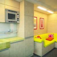 идея светлого дизайна гостиной 15 кв.м фото
