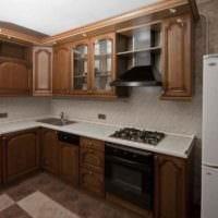 вариант красивого стиля кухни 11 кв.м фото