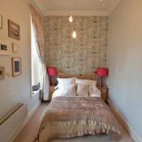 идея яркого декора комнаты 12 кв.м фото