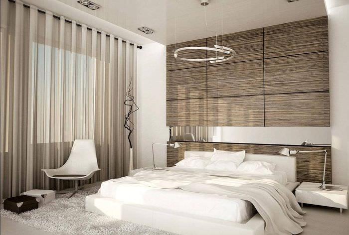 идея красивого интерьера комнаты 12 кв.м