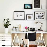 идея яркого интерьера квартиры в скандинавском стиле картинка