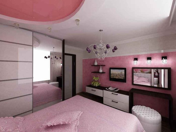 пример красивого интерьера комнаты 12 кв.м