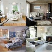 вариант красивого дизайна комнаты в скандинавском стиле картинка