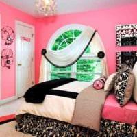 вариант необычного стиля детской комнаты для девочки фото