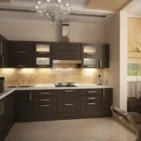 идея необычного декора кухни 7 кв.м картинка