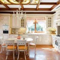 идея светлого дизайна кухни 7 кв.м фото
