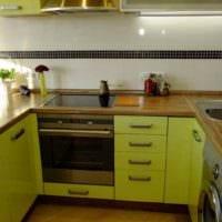 пример необычного дизайна кухни 12 кв.м фото
