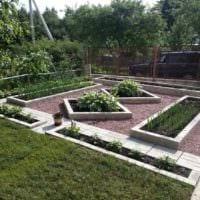 идея яркого декора огорода на даче картинка