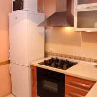 идея красивого стиля кухни 7 кв.м картинка