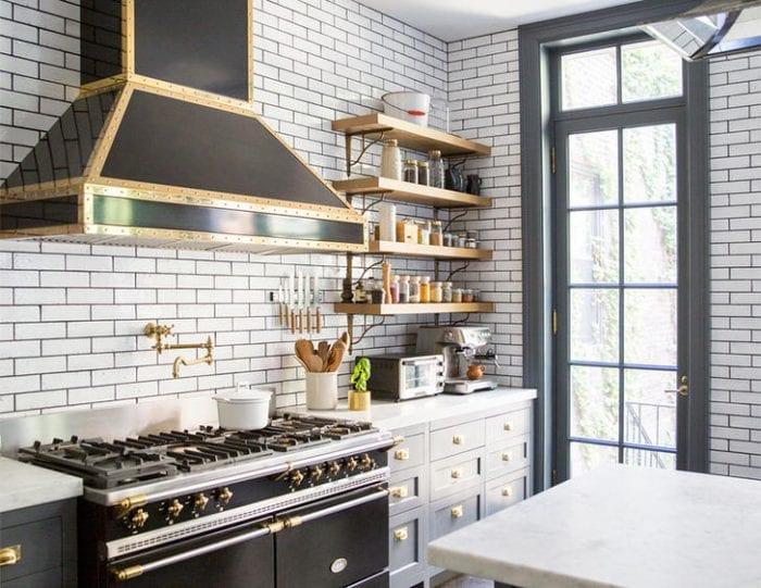 дизайн кухни 6 кв м в стиле лофт