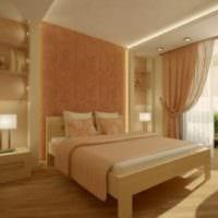 дизайн интерьера маленькая спальня