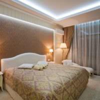 дизайн потолков спальни идеи фото
