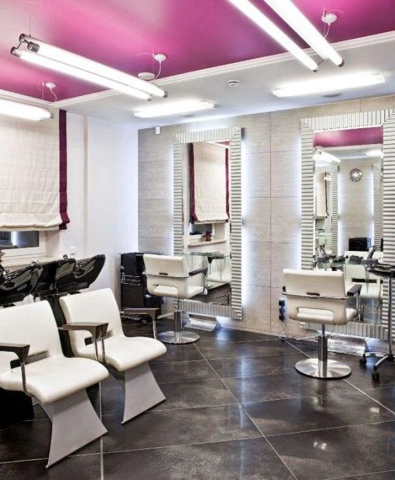 идеи дизайна парикмахерских