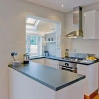 дизайн кухни 6 кв м с гостиной