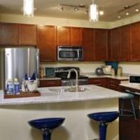 интерьер маленькой кухни дизайн фото