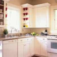 интерьер маленькой кухни фото планировки