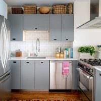 интерьер маленькой кухни идеи