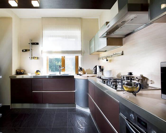 кухня в 3 комнатной квартире