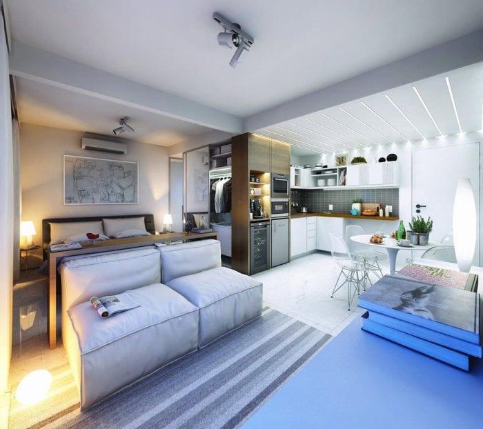 дизайн квартиры 30 кв метров