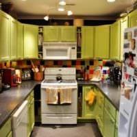дизайн кухни 6 кв м оформление потолка