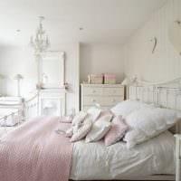 дизайн маленькой спальни шебби шик