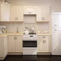 угловая мебель на кухне