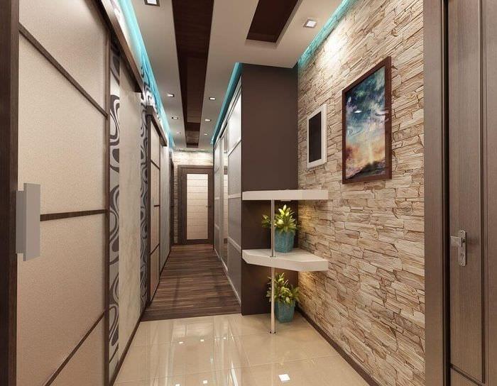 узкие длинные коридоры