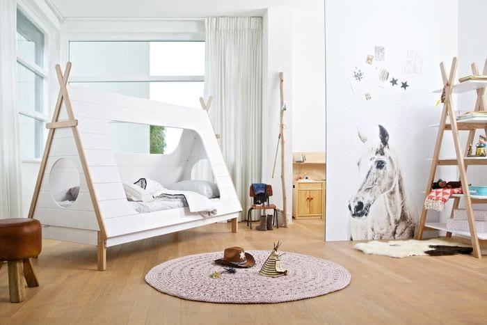 ламинат в детской комнате
