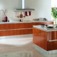 дизайн кухни без верхних навесных шкафов фото идеи